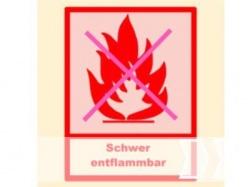 Schwer entflammbar