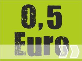 ab 0.50 Euro