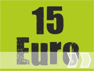 ab 15,00 Euro
