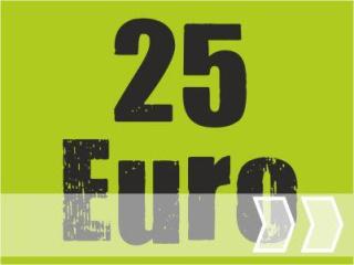 ab 25,00 Euro