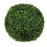 Boxwood ball plastic Ø 30cm Color: green