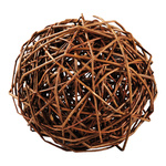 Willow ball wooden twigs Ø 20cm Color: brown
