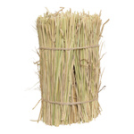Bale of straw round, real straw Ø 20cm, 30cm Color:...