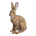 Rabbit, sitting polyresin, for in- and outdoor 41x24x14cm...