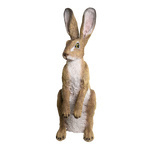 Rabbit, standing polyresin, for in- and outdoor...