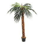 Phoenix palm in pot plastic, artificial silk 180cm Color:...