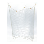 Fishing net cotton and cork 200x150cm Color: natural...