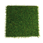 Artificial turf plate plastic 25x25cm Color: green