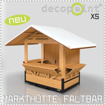 Market hut XS - MINI 2,00 x 1,20m