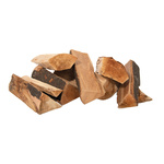 Wood billets 12kg/bag 30cm Color: natural coloured