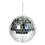Mirror ball styrofoam with glass discs 100g, Ø 10cm...
