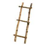 Ladder made of birch branches natural material, only for...