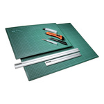Cutting mat printed on one side, plastic 22x30cm Color:...