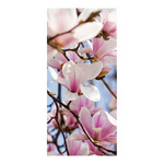 Banner »Magnolia« fabric 180x90cm Color: white/pink