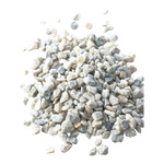 Natural stones 1 kg/bag 8-16 mm Color: white