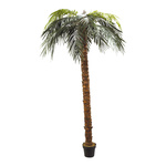 Phoenix palm in pot plastic, artificial silk 240cm Color:...