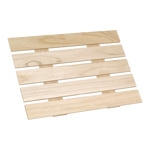 Presenter panel wood 50x36 cm Color: natural