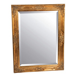 Mirror wood 84x64 cm Color: gold