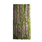 Bark plate covered with moss, with real bark 100x50cm...