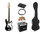 DIMAVERY BGS-10B E-Bass-Set, black