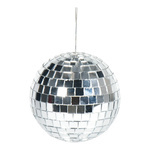 Mirror ball styrofoam with glass discs 300g, Ø 15cm...