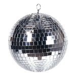 Mirror ball styrofoam with glass discs 500g, Ø 20cm...