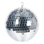 Mirror ball styrofoam with glass discs 1,000g, Ø 25cm...