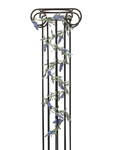 EUROPALMS Flowering Garland, artificial, blue, 180cm
