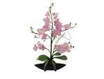 EUROPALMS Orchid arrangement (EVA), artificial, purple