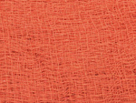 EUROPALMS Deco fabric, broad, orange, 76x500cm