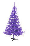 EUROPALMS Fir tree, purple, 240cm
