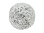 EUROPALMS Pine ball, flocked, 30cm