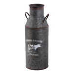 Milk churn made of iron sheet, with handles Ø17,5 cm...