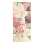 Banner »Soft Tulips« paper 180x90cm Color: multicoloured