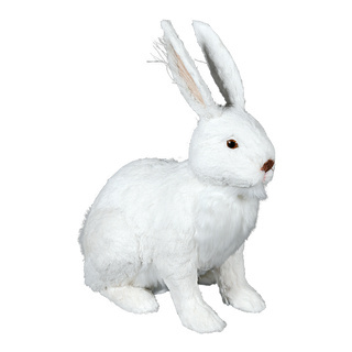 Rabbit standing 30cm Color: white