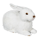 Rabbit lying 25cm Color: white