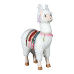 Lama standing 65cm Color: white