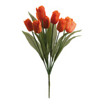 Bouquet of tulips 9-fold 48cm Color: orange