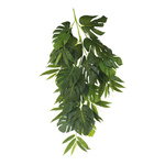 Philodendron branch with bamboo leaves 110cm Color: green