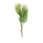 Palm branch 7-fold, made of plastic 80cm Color: green