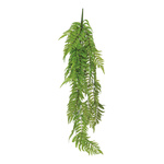 Fernleaf hanger made of plastic 110cm Color: green