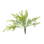 Seaweed bush 7-fold, made of plastic 50cm Color: green