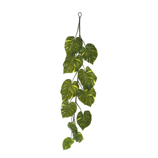 Giant pothos garland 11-fold 180cm Color: green