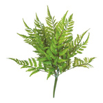 Fernleaf bush 5-fold, made of plastic 50cm Color: green