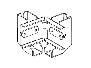 ALUTRUSS BE-1V3E connection clamp for BE-1G3