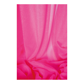 Neon minimum purchase quantity 30m, 65% nylon, 35% polyester 150cm Color: pink