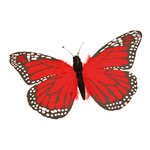 Butterfly feathers Ø 55cm Color: red