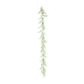 Fern garland plastic 140cm Color: green