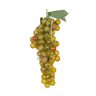 Grapes with hanger, 90-fold, out of plastic 25cm Color: green/red