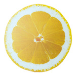 Cut-out »Lemon« for hanging, printed double-sided, made...
